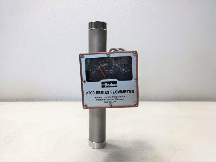 Parker Porter P700 Series Flow Meter P710123T720