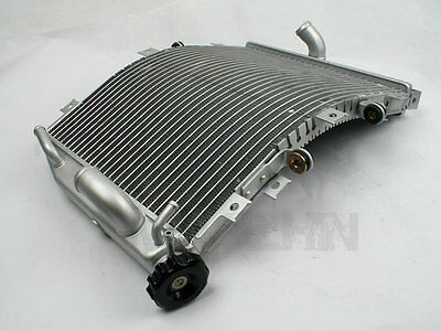 NEW Silver Radiator Cooler Cooling For Kawasaki Ninja ZX10R ZX-10R 2004-2005 04