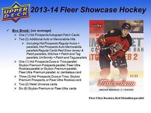 2013-14 Upper Deck Fleer Showcase Hockey Cards Hobby Box Kitchener / Waterloo Kitchener Area image 3