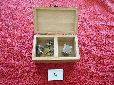 Vintage Dow Mechanical  Stage Set Master For Model Tg-2027 Orig Wood Box