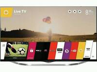 LG 49 inch 4k 3d LED smart tv boxed