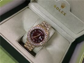 red dial rolex sale now