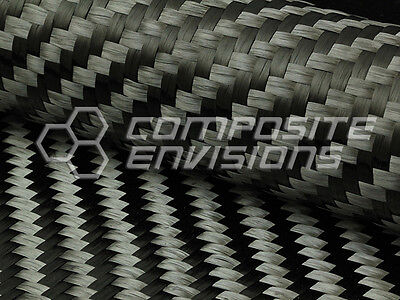 Carbon Fiber Cloth Fabric 2x2 Twill 39.37 15k 4.7oz160gsm Spread Tow 15mm