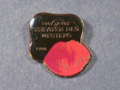 PIN THEATER DES WESTENS 100 JAHRE 1996 (AN1160)
