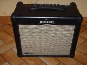 Kustom Guitar amp Dual 30RC Celestion Tube 10inch(sell/trade)