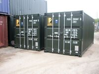 Self Storage Containers 20ft Secure yard with CCTV, good access.