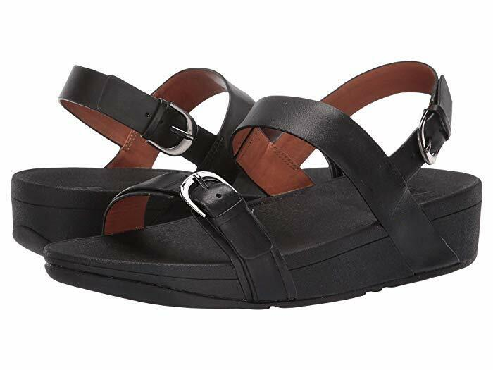 NIB Women's Shoes Fitflop EDIT Slingback Arch Support Wedge