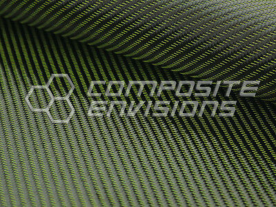 Yellow Mirage Carbon Fiber Cloth Fabric 2x2 Twill 50 3k 290gsm 8.6oz Hd