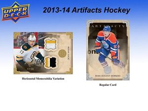2013-14 Upper Deck Artifacts Hockey Hobby Cards Box Kitchener / Waterloo Kitchener Area image 5