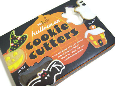 Williams Sonoma Kids Halloween Witch Hat Ghost House Bat Cookie Cutters - Williams Sonoma Cookie Cutters Halloween