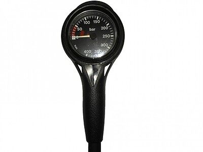 Finimeter Slim Line Black 400bar / Pressure Gauge