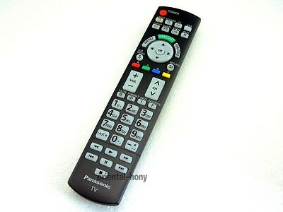 New Panasonic N2QAYB000486 Replacement Remote for Panasonic 2010-11 Plasma TVs