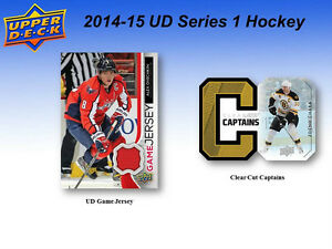 2014-15 Upper Deck Series 1 Hockey Cards Box Kitchener / Waterloo Kitchener Area image 5