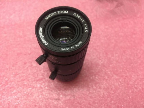 1pc Used Computar MLM-3XMP Industrial CCD Camera Lens