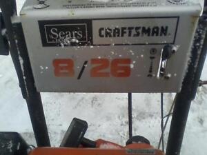 Sears   Craftsman snow blowers Cambridge Kitchener Area image 2