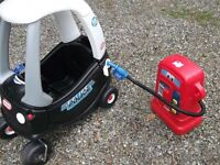 Little Tikes Police Car + Red Pump