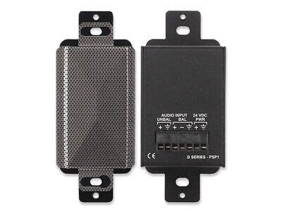 RDL DS-PSP1F Decora-Style Altavoz Activo/Acero Inoxidable