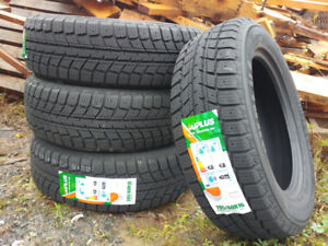 New 205/60R16 winter tires, $340 for 4 (studdable)