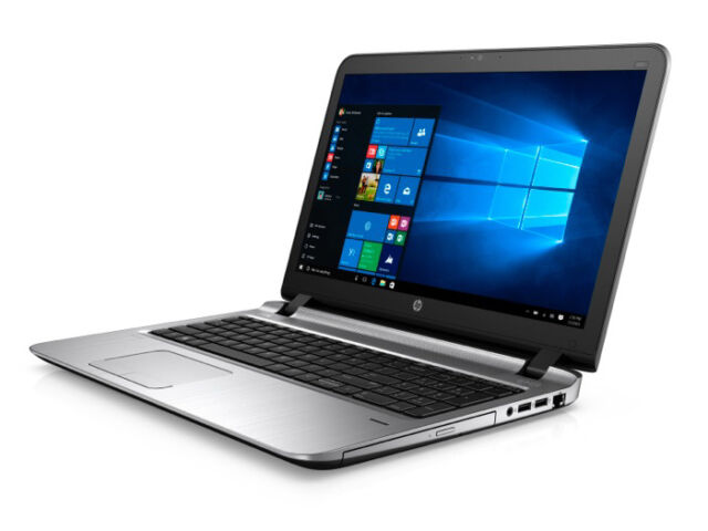 "HP ProBook 450 G3 T3V97P Core i5-6200U 15.6"" HD 8GB 256GB SSD DVD Win7/10 pro"