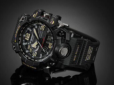 NEW CASIO MUDMASTER GWG-1000-1AJF (GWG-1000-1A) Tough Solar Watch*Offer