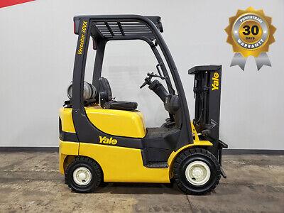 2012 Yale Glp030vx 3000lb Pneumatic Forklift Lpg Lift Truck Hi Lo 6283