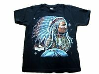 Native American Eagle T Shirt (Med) - Brand new Biker T shirt - Indian Print