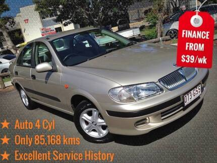 2002 Nissan Pulsar Auto Sedan - Own It From Only $39/wk! Mount Gravatt East Brisbane South East Preview
