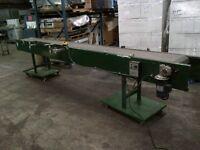 "Used Conveyor 16 ft L x 18"" W Frame (65)"