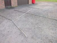 Caravan Steel Awning Poles to suit up to 16Ft sized Caravan body
