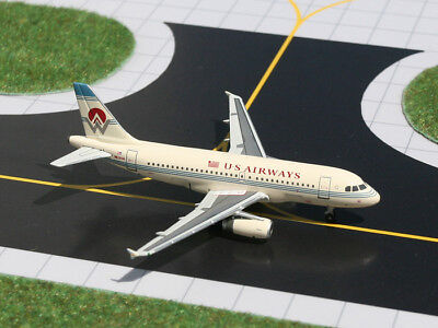 Airbus A319 Us Airways - CLEARANCE Gemini Jets 1:400 Scale US Airways Airbus A319