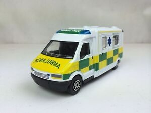 CORGI-1-43-Ambulance-Opening-rear-doors-DIE-CAST-TOYS-metal-model