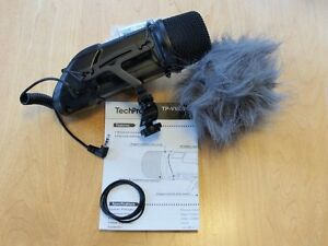 DSLR or Camcorder Broadcast Video Mic