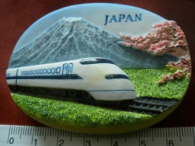 Japanese Bullet Train Mt Mount Fuji Japan 3D Fridge Magnet Souvenir Refrigerator Bullet Train Mount Fuji Japan