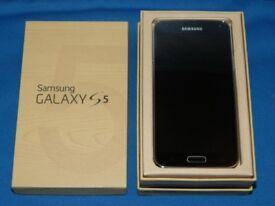 Samsung Galaxy S5 unlocked any network ***average condition in box***100% original phone***