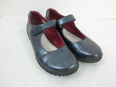 Teal Patent Schuhe (Lands End Youth Girls 6 M Dark Teal Patent Mary Jane Shoes)