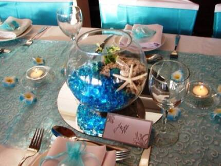 WEDDING & EVENT HIRE - Glass Fish Bowls for Table Decorations