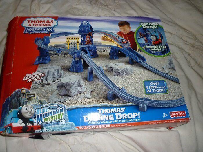 Thomas the Tank Engine Trackmaster train set - Daring Drop