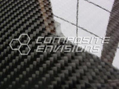 Carbon Fiber Panel .1223.1mm 2x2 Twill - Epoxy-24 X 36 Matte Finish