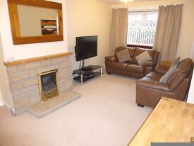 3 Bedroom House, in Portgortdon by Buckie GCH, DG, Garage, Shed and low maint Gardens front and rear