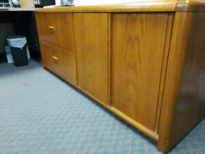 Large Credenza with great cabinet and file storage