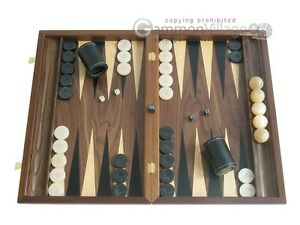 Backgammon Game (Wooden Case)