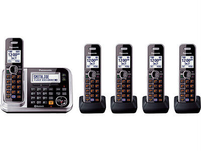 Panasonic KX-TG7875S DECT 6.0 Plus Link-to-cell Bluetooth Cordless Phone System