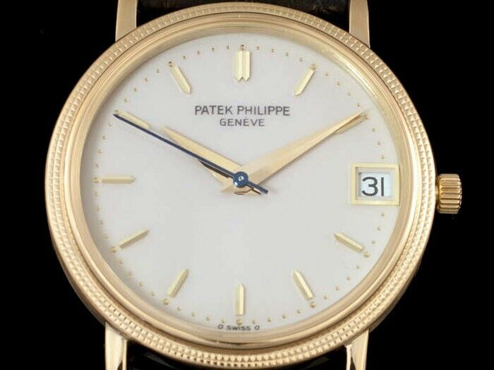 Stunning 1960s patek philippe 18k gold vintage - watch picture 1