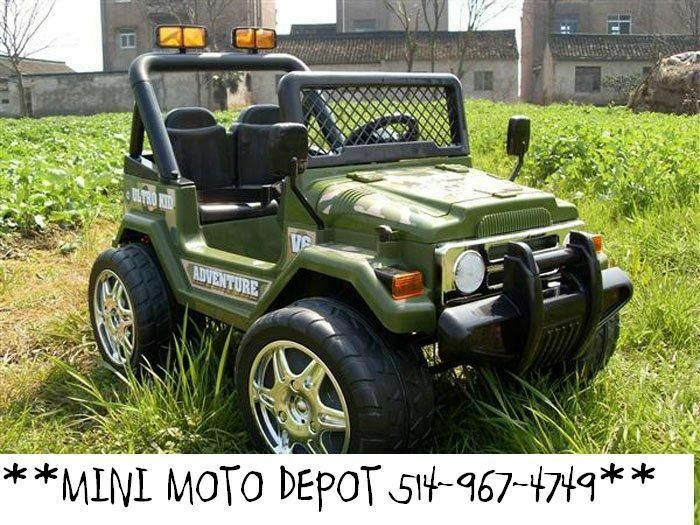 jeep electrique enfants mini moto depot toys games gatineau kijiji. Black Bedroom Furniture Sets. Home Design Ideas