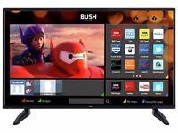 "4 months old 40"" BUSH SMART TV full hd ready 1080p LED"