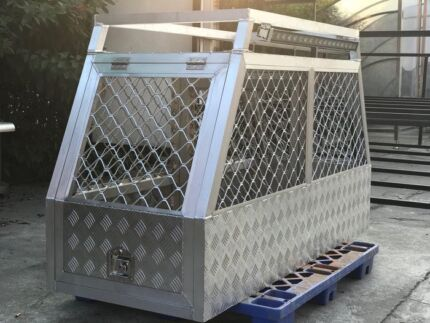 NEW EXTREME ALUMINIUM UTE DOG CAGE CHEAPEST GUARANTEED
