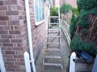 RETRO WOODEN STEP LADDERS WITH PLENTY OF CHARACTER