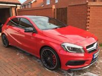 Mercedes A45 AMG 4Matic Red Edition