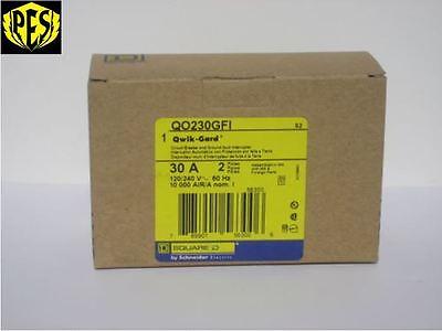 New In Box Nib Square D Qo230gfi Qo 2 Pole 30 Amp Gfci Circuit Breaker