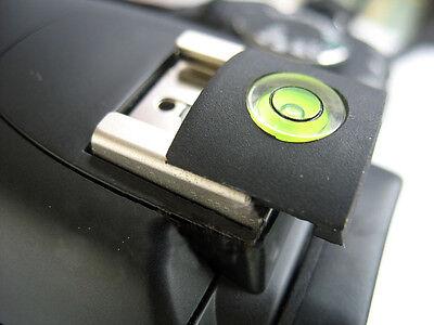 Hot Shoe Cover Cap Bubble Spirit Level For SLR DSLR Nikon Pentax Canon UK STOCK